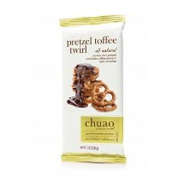 Chuao Chocolatier 900960 Pretzel Toffee Twirl bar