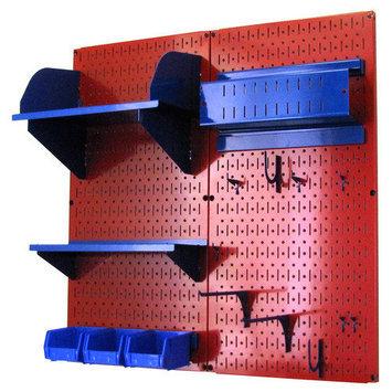 Wall Control Inc Wall Control Pegboard Hobby Craft Pegboard Organizer Storage Kit - Gray
