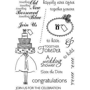 Mse My Sentiments Exactly Clear Stamps 4