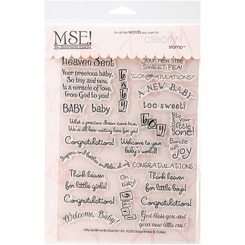 Mse My Sentiments Exactly Clear Stamps 6