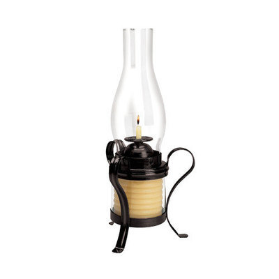 Eclipse Home Decor Llc Eclipse Home Decor, LLC 40-Hour Coil Candle with Hurricane Lamp 20625B