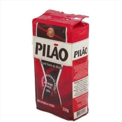 Pilao Pil O Roasted And Ground Coffee 8.80 Oz - Caf Pil O Torrado E Mo Do 250G -Pack of 20