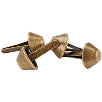 Sunbelt Fasteners 86153 14mm Purse Feet 4-Pkg-Antique Brass