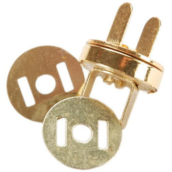 Sunbelt Fasteners MS14mm-G Magnetic Purse Snap, 14mm, Gold 086143