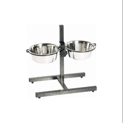 Indipets Inc Indipets Adjustable Height Double Diner 3 QT