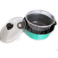Gourmet Chef 4.5 Quart Non Stick Deep Fryer with Lid