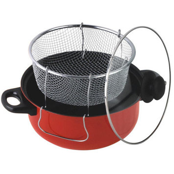 Gourmet Chef 6.5 Quart Non Stick Deep Fryer with Lid
