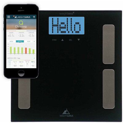 Sharper Image Smartphone Connected Body Composition Scale