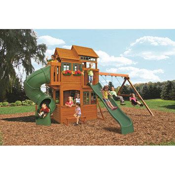 Big Backyard Cedar Summit Shelbyville Deluxe Wooden Play Set