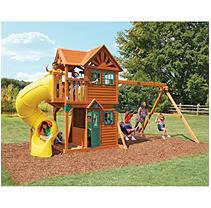 Cedar Summit Mountainview Resort Play Set - Swing Sets
