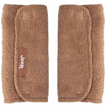 Jeep Strap Covers - Brown