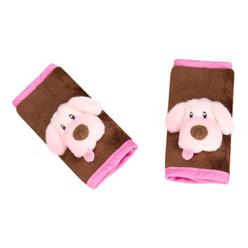 Jeep Animal Strap Covers - Pink Puppy