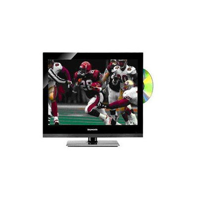 Skyworth SLC2219A 22 TV-DVD Combo with LED Backlighting and AC-DC Power