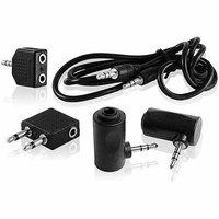 Dpaudiovideo DP Audio 5-in-1 3.5mm Audio Kit