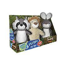 Happy Tails Plush Pet Toys, Forest Friends (3 pk.)