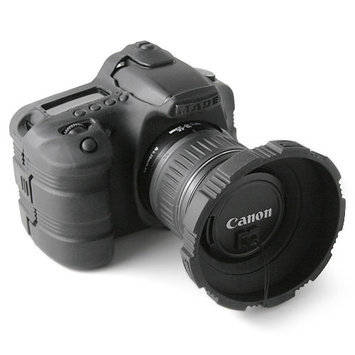MADE Rubberized Camera Armor Case for Canon 30D (Black)