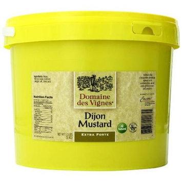Domaine des Vignes 52005 11 Lb. Hot Dijon Mustard Pack of 2