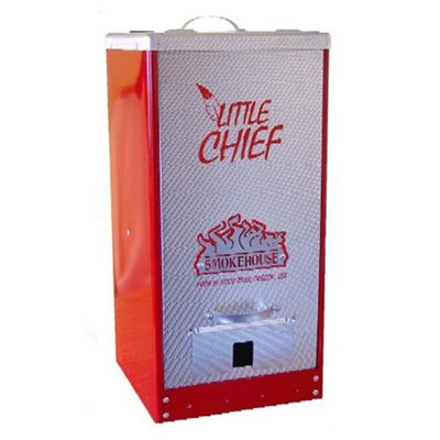 Smokehouse Products 9900-000-0RED Red Little Chief Front Load Smoker