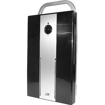 Sunpentown Mini Thermo-Electric Dehumidifier - Black/White