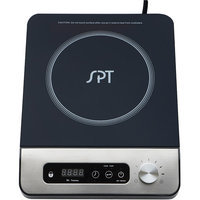 Sunpentown Int'l Inc SPT SR-1884SS 1650W Induction Cooktop with Control Knob