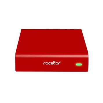 Rockstor Rocstor Rocpro 900e 2TB 3.5 External Hard Drive - Firewire/i.link 800, USB 3.0, Esata - Sata - 7200 Rpm - Portable - Red (g269s2-r1)