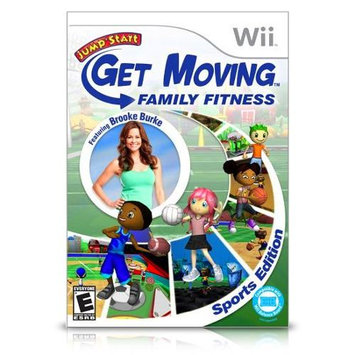 Jumpstart: Get Moving featuring Brooke Burke Wii Game Knowledge Adventure