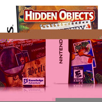 KNOWLEDGE ADVENTURE#44; INC. KA20862 Hidden Objects: Mystery Stories Bilingual Nintendo Ds