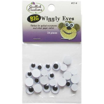 Quilled Creations NOTM158781 - Big Wiggly Eyes 24/Pkg