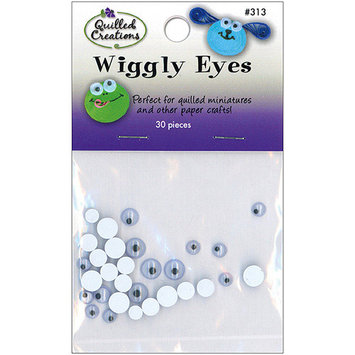 Quilled Creations 313 Wiggly Eyes 30/Pkg