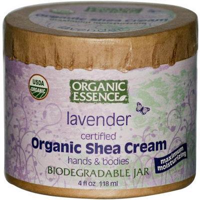 Organic Essence Pure Organic Organic Essence Organic Shea Cream, Lavender, 4 oz