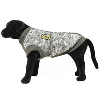 Gooby 75115-GRN-M Big Dog Camo Vest Green Medium