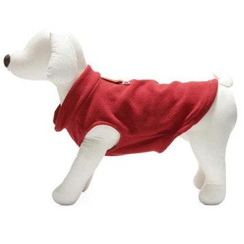 Gooby 72106-RED-L Fleece Vest Red Large