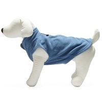 Gooby 72106-BLU-L Fleece Vest Blue Large
