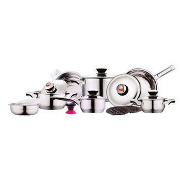 Kelvin Koch Kelvin K. Diamond Series 17-Piece Cookware Set