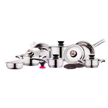 Kelvin Koch Kelvin K. Diamond Series 17-Piece Cookware Set