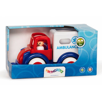 Viking Toys Super Chubbies Red Ambulance