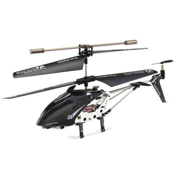Cyberkidz 3.5-Channel Infrared Remote Control Black Helicopter