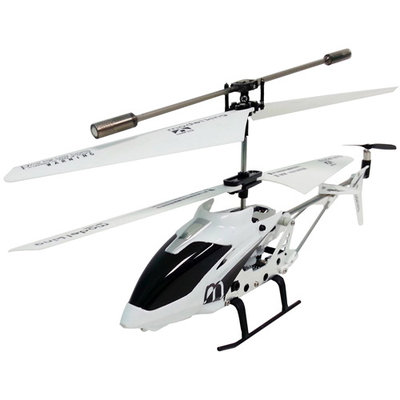 Cyberkidz 3.5-Channel Infrared Remote Control White Helicopter