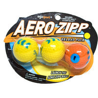 OgoSport Aero Zipp Ball Refill 2 Pack Bundle