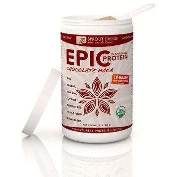 Windy City Organics Sprout Living Epic Protein Chocolate Maca - 0.75 lb - Vegan
