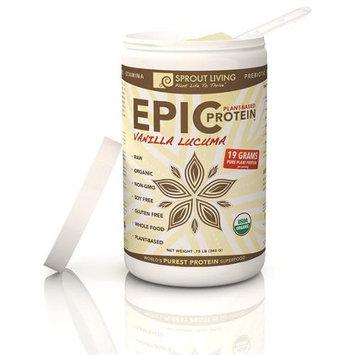Windy City Organics Sprout Living Epic Protein Vanilla Lucuma - 0.75 lb - Vegan