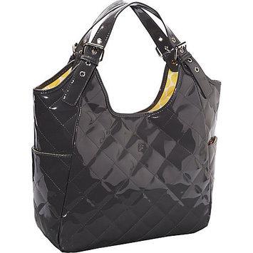 JP Lizzy Slate Saffron Satchel Diaper Bag