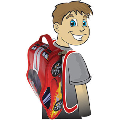 Neat Oh Neat-Oh! ZipBin Street Racer Bring-Along Backpack