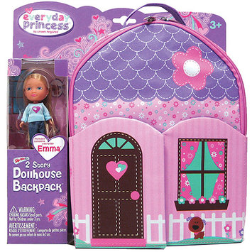 Neat Oh Neat-Oh! Everyday Princess ZipBin Doll Dollhouse Backpack & Doll Set