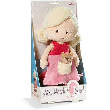 Flat River Group Llc MiniLina 11.75 inch Dangling Plush Doll