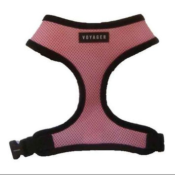 Best Pet Supplies Dog Harness in Carnation Pink - Size: X-Small (Dogs Under 4 lbs)