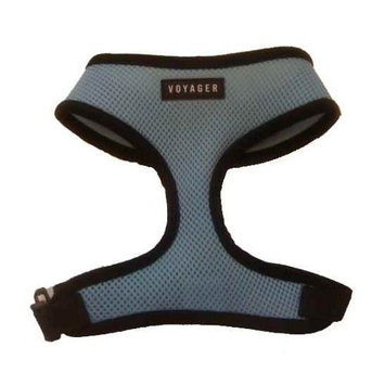 Best Pet Supplies Dog Harness In Baby Blue - Size: Medium (dogs 10 - 20 Lbs)