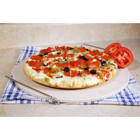 Cook Pro 210 15-Inch Ceramic Pizza Stone With Chrome Rack