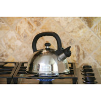 Cookpro 404s Stainless Steel Kettlle Whistling 3qt Easy Clean
