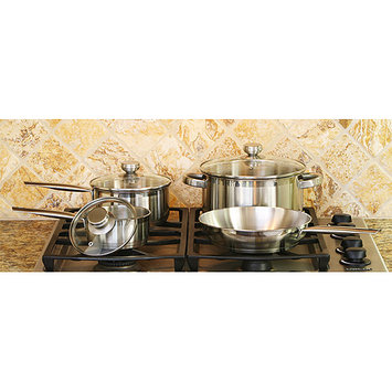 COOKPRO 503 STEEL COOKWARE SET 7PC ENCAPSULATED BASE